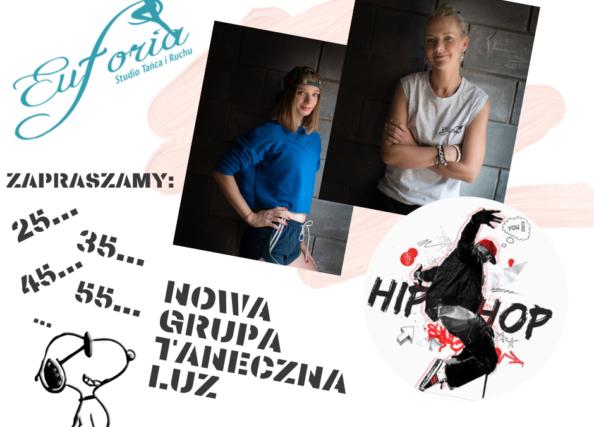 Zajęcia grupy tanecznej LUZ dla dorosłych, czwarteki godz.20:00