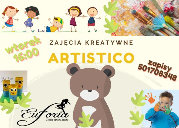 ARTISTICO, zajęcia kreatywne dla najmłodszych.